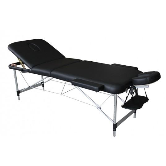 table-de-massage-pliante-mediprem-eco-pro-alu-noire