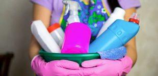 qué productos de limpieza usar