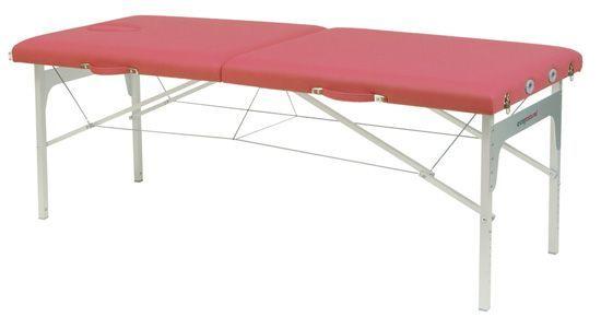 Camilla plegable de patas de aluminio Ecopostural C3411