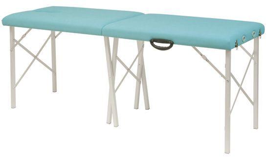 Camilla plegable de patas cruzadas de aluminio Ecopostrural Ecopostural C3501