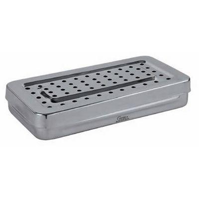 Cajas de acero inoxidable perforadas Holtex