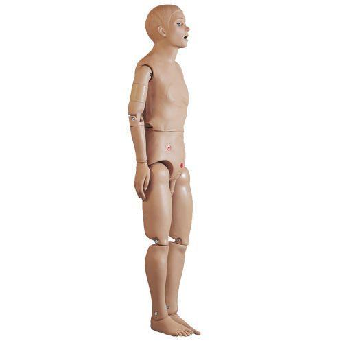 Maniquí para el cuidado básico del paciente, masculino 3B - W45070