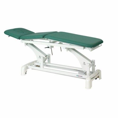 Camilla eléctrica tres cuerpos reclinable Ecopostural C3511