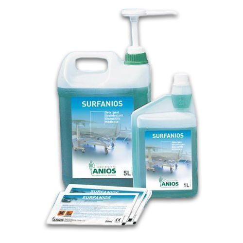 Detergente desinfectante suelos y superficies Surfanios Lemon