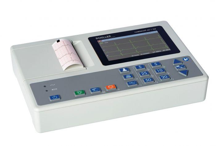 Electrocardiógrafo ECG 3 pistes Schiller cardiovit AT1 G2