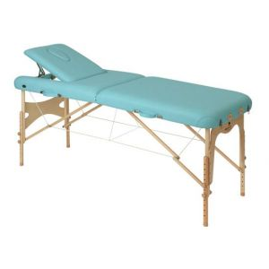 Camilla de masaje con tensores madera Ecopostural C3609M63
