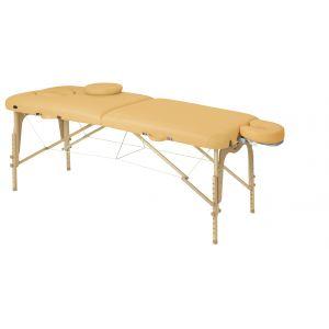 Camilla de masaje plegable en madera natural Ecopostural C3608 70x186cm