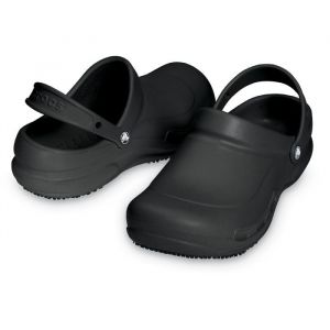 Zuecos Crocs Bistro Negro