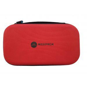 Funda estuche de protección para estetoscopio Mediprem color rojo