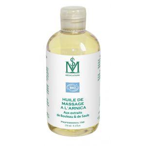 Aceite para masajes con árnica Medicafarm - Frasco de 250 ml