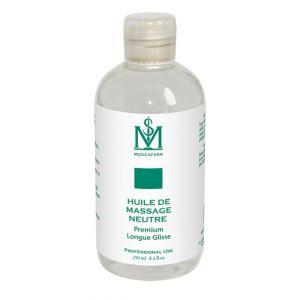 Aceite para masaje neutro premium larga duración Medicafarm 250 ml