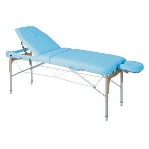Camilla de masaje plegable en aluminio con tensores Ecopostural C3816