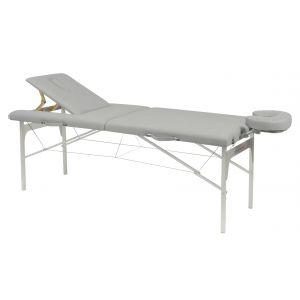 Camilla de masaje plegable regulable aluminio Ecopostural C3410