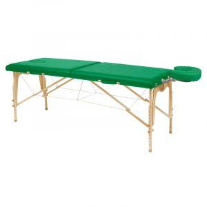 Camilla de masaje plegable de madera natural Ecopostural C3208