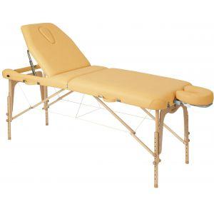 Camilla de masaje plegable de madera regulable en altura Ecopostural C3616