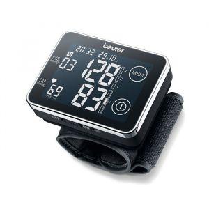 Medidor de presión sanguínea de pulsera pantalla táctil Beurer BC 58
