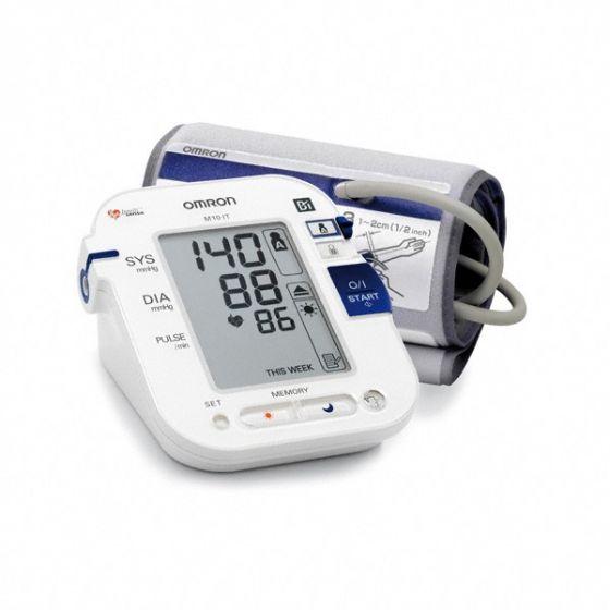 Tensiómetro electrónico de brazo Omron M10 IT con transmisión de datos a PC