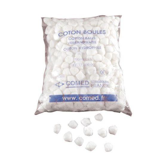 Bolas de algodón hidrófilo Comed bolsita de 700
