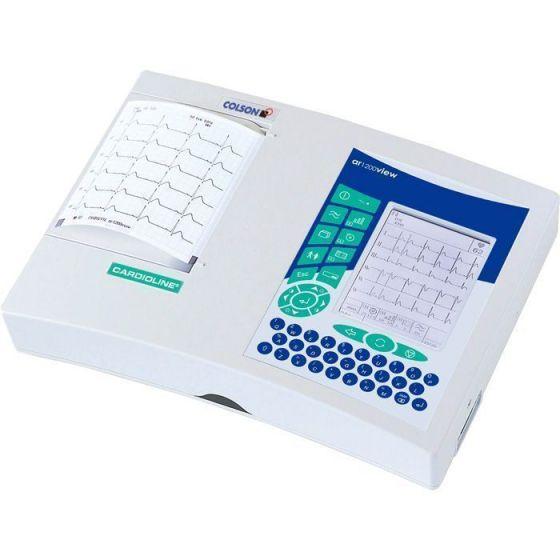Electrocardiógrafo ECG Colson Cardioline AR2100 - 6 canales