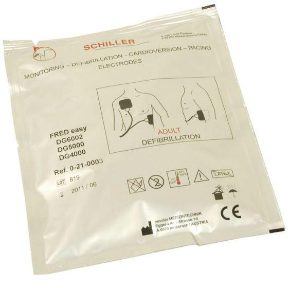 Electrodos para  desfibrilador FRED EASY