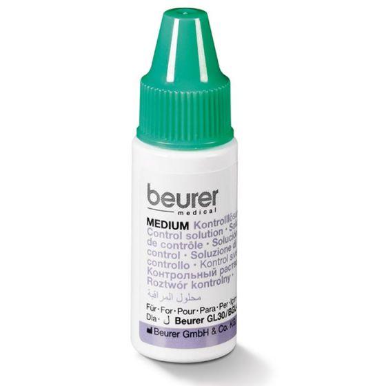 Solución de control de glucemia Beurer MEDIUM y HIGH campo de medición de niveles intermedios y altos de glucemia