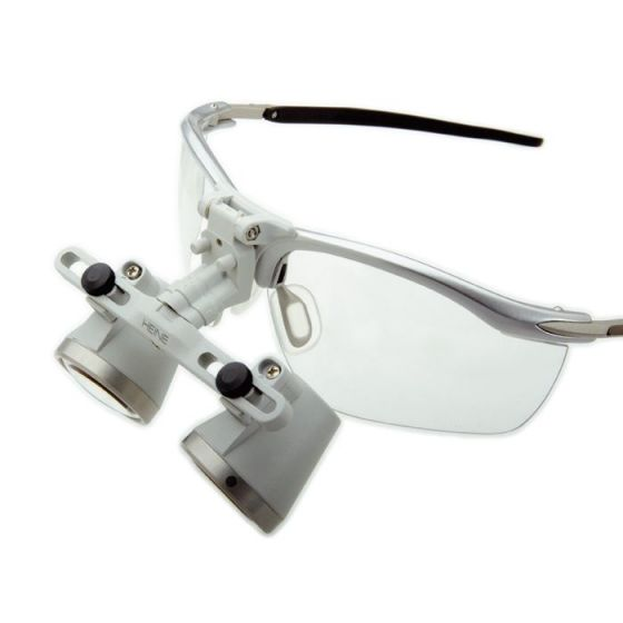Lupas binoculares HEINE HR-C con montura S-Frame