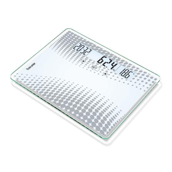 Báscula de vidrio Beurer GS 51 XXL Capacidad 200 kg