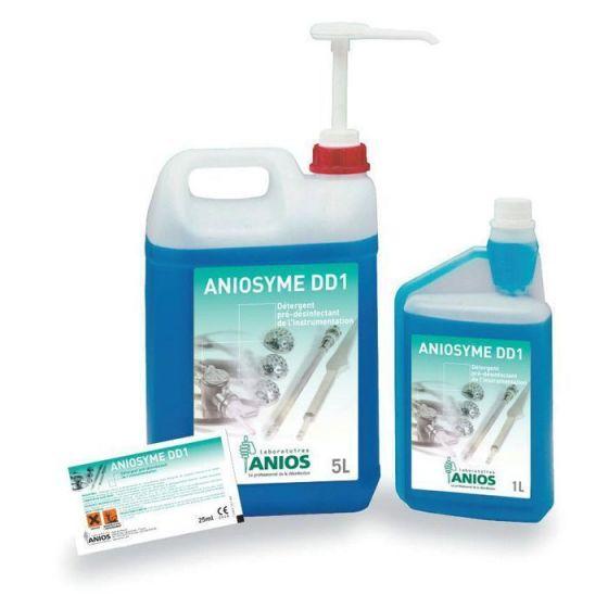 Detergente predesinfectante de la instrumentación Aniosyme DD1R