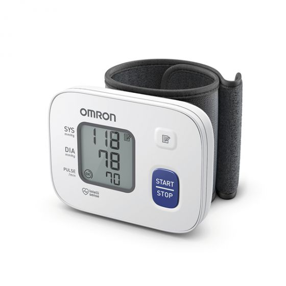 Tensiómetro electrónico de muñeca Omron RS2 HEM-6161-E