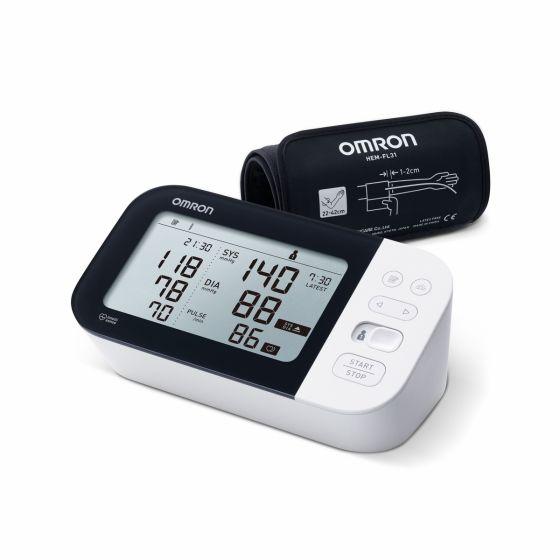 Tensiómetro de brazo Omron M7 Intelli IT HEM-7361T-EBK