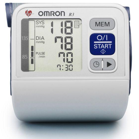 Tensiómetro electrónico de muñeca OMRON R3 i PLUS