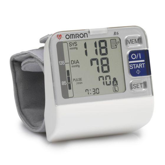 Tensiómetro electrónico de muñeca OMRON R6 HEM-6052-E
