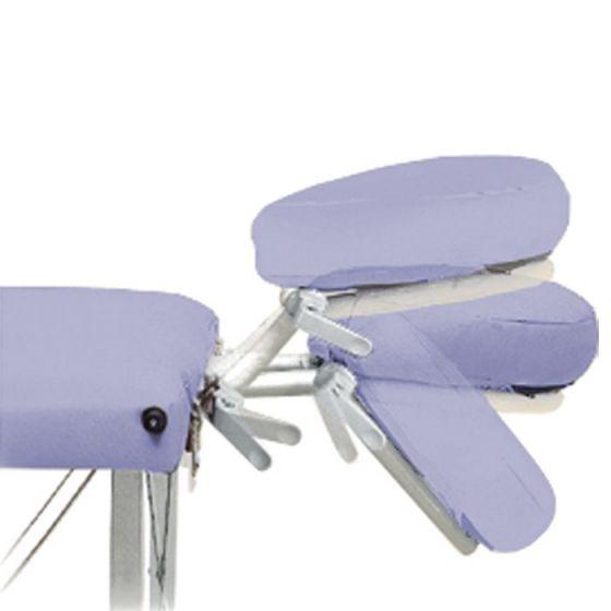 Cabezal articulado Ecopostural adaptable a todas las camillas con tensores A4430