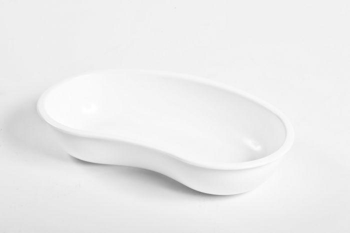 Cubeta de plástico con forma de riñón Holtex 260 x 160 x 50 mm