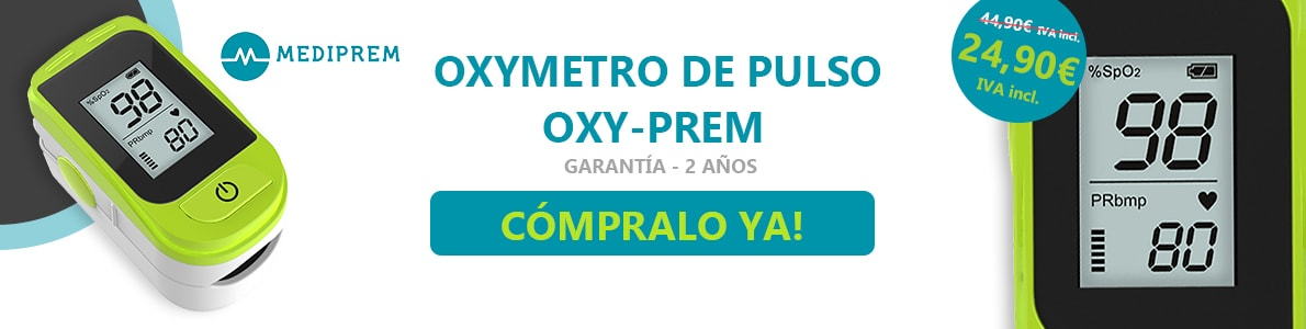 Oximetro de pulso Oxy-Prem Mediprem